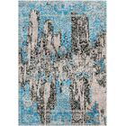 Aliza Handloom Blue/Brown Area Rug Rug Size: Rectangle 4' x 6'