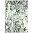 Aliza Handloom Green/Charcoal Area Rug Rug Size: Rectangle 4' x 6'