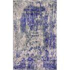 Aliza Handloom Blue/Beige Area Rug Rug Size: Round 6'