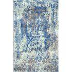 Aliza Handloom Blue/Sage Area Rug Rug Size: Rectangle 5'7
