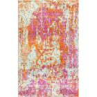 Aliza Handloom Pink/Orange Area Rug Rug Size: Rectangle 8' x 10'