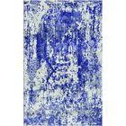 Aliza Handloom Blue/Sage Area Rug Rug Size: Rectangle 4' x 6'
