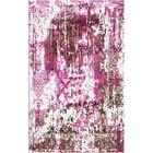 Aliza Handloom Pink Area Rug Rug Size: Round 9'