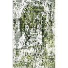 Aliza Handloom Green Area Rug Rug Size: Rectangle 4' x 6'