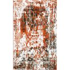 Aliza Handloom Orange Area Rug Rug Size: Round 6'