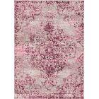 Aliza Handloom Beige/Pink Area Rug Rug Size: Rectangle 4' x 6'