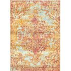 Aliza Handloom Pink/Brown Area Rug Rug Size: Rectangle 8' x 10'