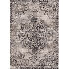 Aliza Handloom Dark Gray Area Rug Rug Size: Rectangle 4' x 6'