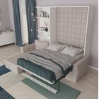 Butte Queen Murphy Bed Color: Semi-gloss White