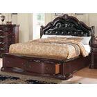 Tre Upholstered Storage Platform Bed Size: King