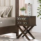 Dowell 2 Drawer Nightstand Color: Walnut