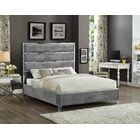 Dietz Upholstered Platform Bed Size: Full, Color: Gray