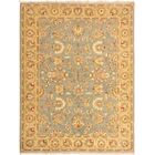 One-of-a-Kind Bodrum Hand-Knotted Wool Blue/Yellow Area Rug