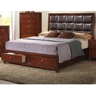 Alexei Upholstered Storage Panel Bed Size: Queen