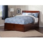 Wrington Storage Platform Bed Size: Twin XL, Color: Walnut