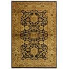 One-of-a-Kind Ernesto Turkish Hand-Knotted Wool Black/Tan Area Rug