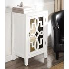 Kermit Nightstand Color: White