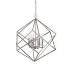 Chapman Cube Pendant 6-Light LED Geometric Chandelier