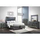 Anthea Platform 5 Piece Bedroom Set Size: Queen