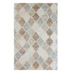 Mckayla Hand-Woven Wool Brown/Blue Area Rug Rug Size: Rectangle 5' x 8'