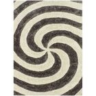 Coker Swirl Beige/Black Indoor/Outdoor Area Rug