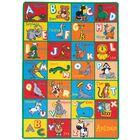 Halcott Kids Abc Animals Red/Blue/Yellow Indoor/Outdoor Area Rug
