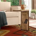 Baillons Rustic Rectangular Open Framed End Table
