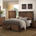 Louis Storage Platform Bed Size: Queen