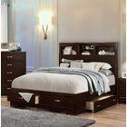Peasely Storage Platform Bed Size: King
