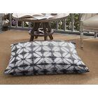 Keanu Indoor/Outdoor Floor Pillow Color: Gray