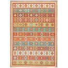Union Point Moroccan Tribal Light Orange Area Rug Rug Size: Rectangle 6'6