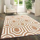 Alhambra Light Brown Area Rug Rug Size: Rectangle5'3
