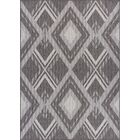 Tennyson Weather-Proof Gray Indoor/Outdoor Area Rug Rug Size: Rectangle 6'x9'
