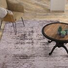 Brice Hand-Knotted Gray Area Rug Rug Size: Rectangle 8' x 11'