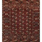 Ozias Hand-Look Cotton Red Area Rug Rug Size: Rectangular 12' x 15'
