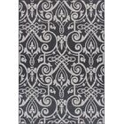 Ruff Weather-Proof Gray Indoor/Outdoor Area Rug Rug Size: Rectangle 6'x9'