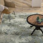 Knox Haze Blue/Green Area Rug Rug Size: Rectangle 8'6