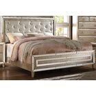Emanuel Upholstered Panel Bed Size: King