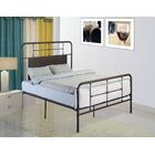 Liya Platform Bed Color: Brown, Size: King