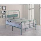 Liya Platform Bed Color: Eucalyptus Green, Size: Queen