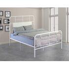 Liya Platform Bed Color: Snowdrop White, Size: King