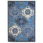 Bouchard Blue/Gray Area Rug Rug Size: Rectangle 8' x 10'