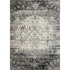 Stern Ink/Ivory Area Rug Rug Size: Rectangle 2'7