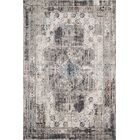 Warden Gray Area Rug Rug Size: Rectangle 7'10