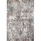 Warden Ivory/Granite Area Rug Rug Size: Rectangle 5' x 7'6