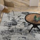 Shondra Hand-Knotted Cotton Gray Area Rug Rug Size: Runner 2'6
