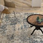 Mckeever Abstract Taupe/Charcoal Area Rug Rug Size: Rectangle 7'10