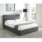 Merida Queen Upholstered Storage Platform Bed Color: Gray