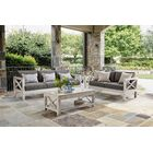 Barden 5 Piece Sofa Set with Sunbrella Cushions Cushion Color: Cast Oasis