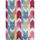 Beyer Red/Blue Indoor/Outdoor Area Rug Rug Size: Rectangle 7'6